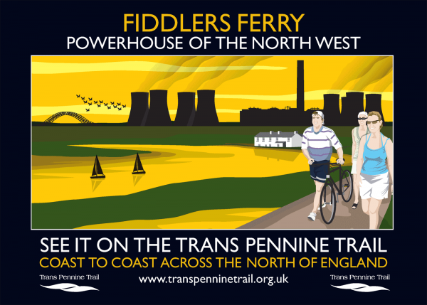 Fiddlers Ferry A3 poster