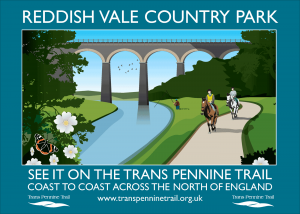 Reddish Vale A3 poster