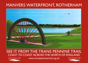Manvers Waterfront A3 poster