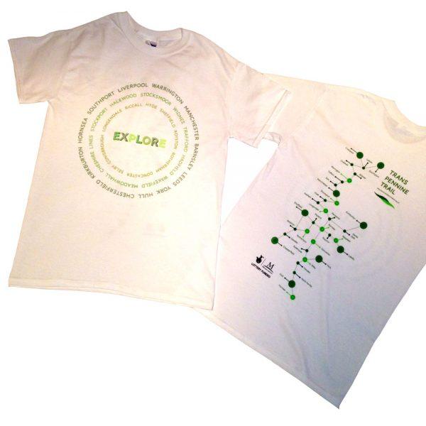 Trans Pennine Trail T-shirt
